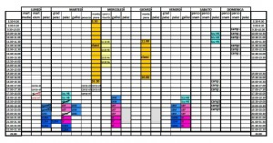 ALLENAMENTI STAGIONE 2015-16